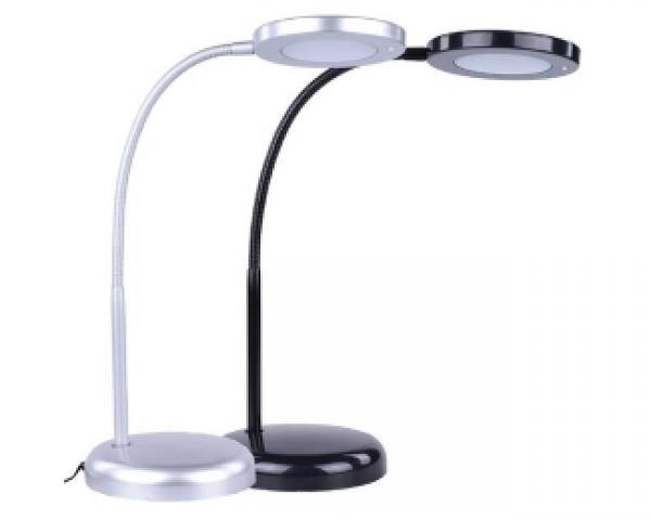 ELIT+ ELL114 LED stona lampa srebrna