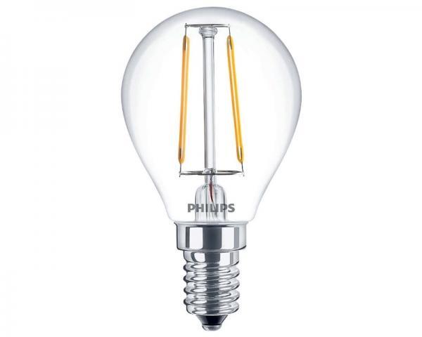 PHILIPS P45 2.3-25W E14 bistra dekorativna LED Classic sijalica (1660)