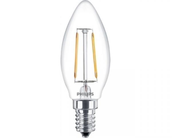 PHILIPS B35 2.3-25W E14 bistra dekorativna LED Classic sijalica (1670)