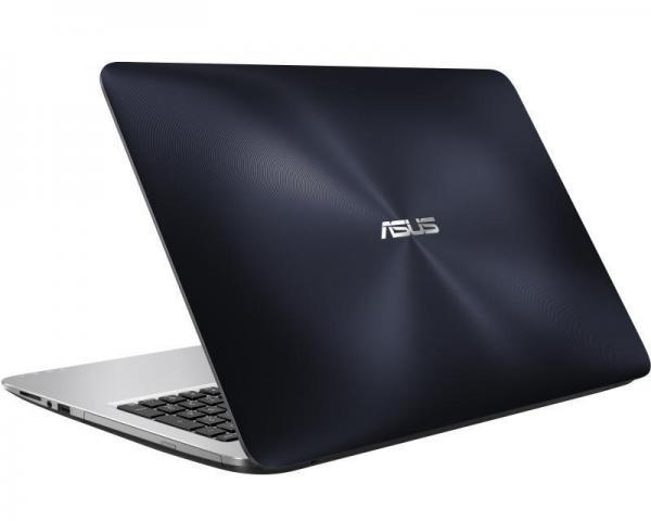 ASUS K556UQ-XX808D 15.6 Intel Core i5-6198DU 2.3GHz (2.8GHz) 8GB 1TB GeForce 940MX 2GB ODD Dark Blue Silver