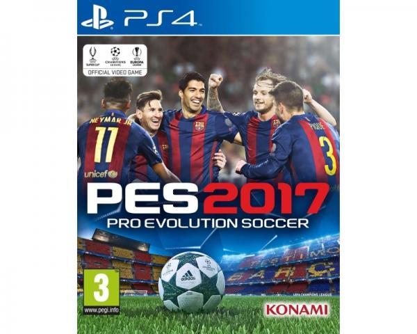 KONAMI Pro Evolution Soccer 2017 PS4