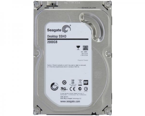 SEAGATE 2TB 3.5 SSHD SATA III MLC 8GB 64MB 7.200rpm ST2000DX001