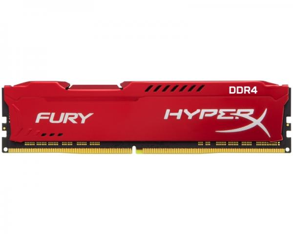 KINGSTON DIMM DDR4 8GB 2666MHz HX426C16FR2/8 HyperX Fury Red