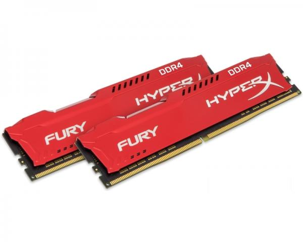KINGSTON DIMM DDR4 32GB (2x16GB kit) 2666MHz HX426C16FRK2/32 HyperX Fury Red