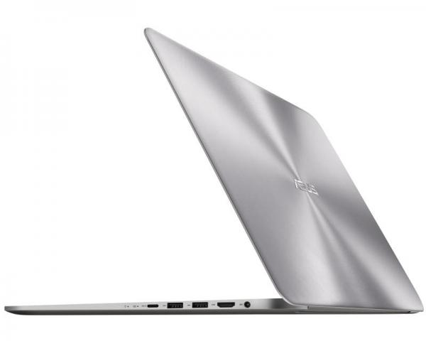 ASUS ZenBook UX510UW-DM100R 15.6 FHD Intel Core i7-7500U 2.7GHz (3.5GHz) 16GB 1TB 256GB SSD GeForce GTX 960M 4GB Windows 10 Professional 64bit srebrni + torba