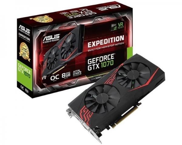 ASUS nVidia GeForce GTX 1070 8GB 256bit EX-GTX1070-O8G