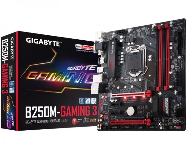 GIGABYTE GA-B250M-Gaming 3 rev.1.0