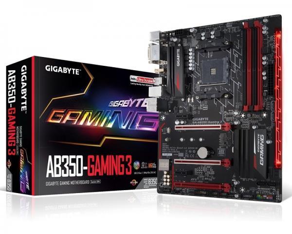 GIGABYTE GA-AB350-Gaming 3 rev.1.0