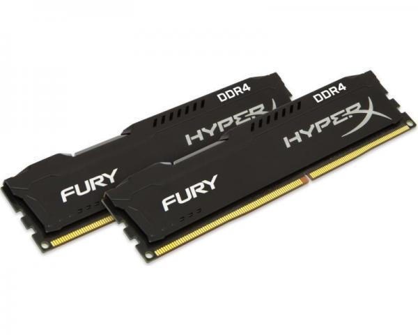 KINGSTON DIMM DDR4 8GB (2x4GB kit) 2133MHz HX421C14FBK2/8 HyperX Fury Black