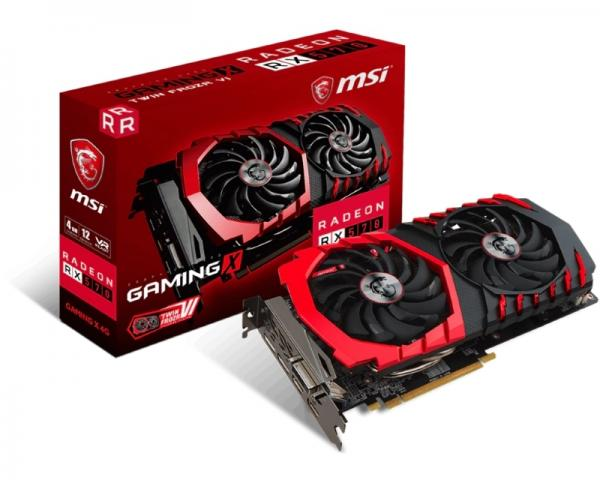 MSI AMD Radeon RX 570 4GB RX 570 GAMING X 4G
