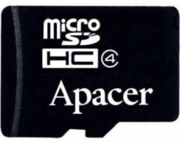 APACER MicroSDHC 4GB class 4 AP4GMCSH4-RA