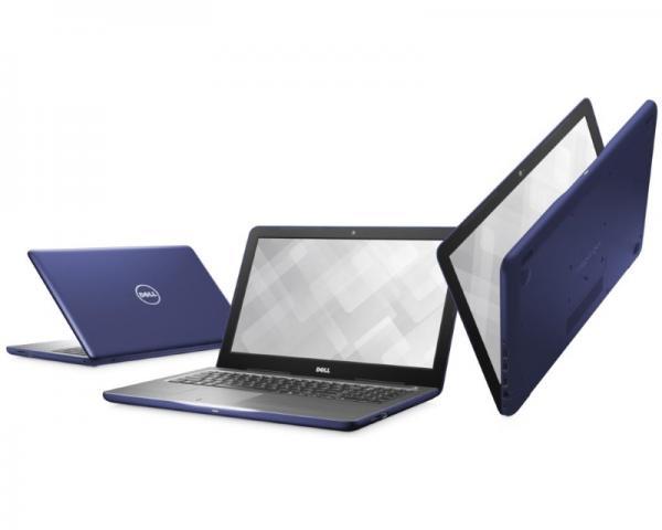 DELL Inspiron 15 (5567) 15.6 Intel Core i5-7200U 2.5GHz (3.1GHz) 8GB 1TB Radeon R7 M445 2GB 3-cell ODD midnight blue Ubuntu 5Y5B
