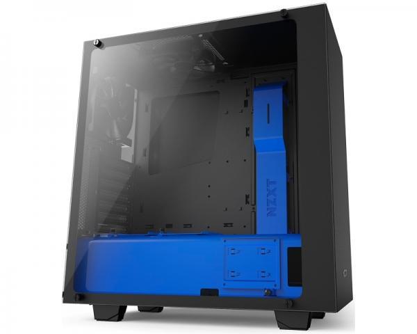 NZXT S340 Elite kućište mat crno-plavo (CA-S340W-B5)