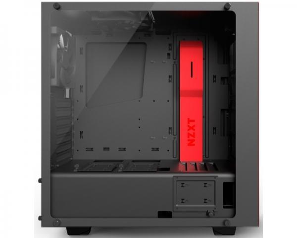 NZXT S340 Elite kućište mat crno-crveno (CA-S340W-B4)