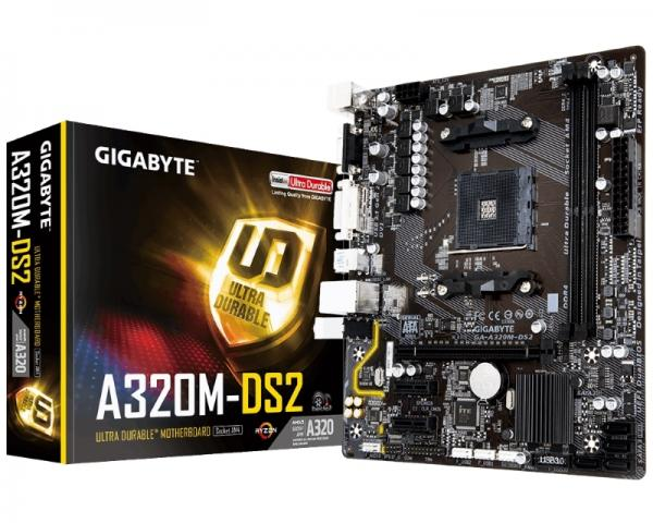 GIGABYTE GA-A320M-DS2 rev.1.0