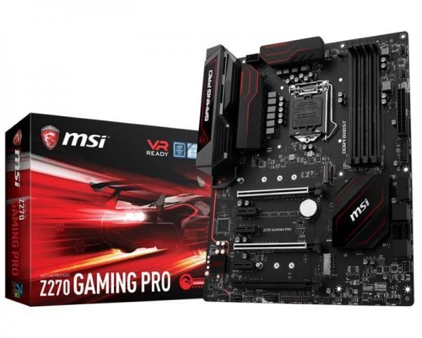 MSI Z270 GAMING PRO + MSI RGB LED Strip - 400mm