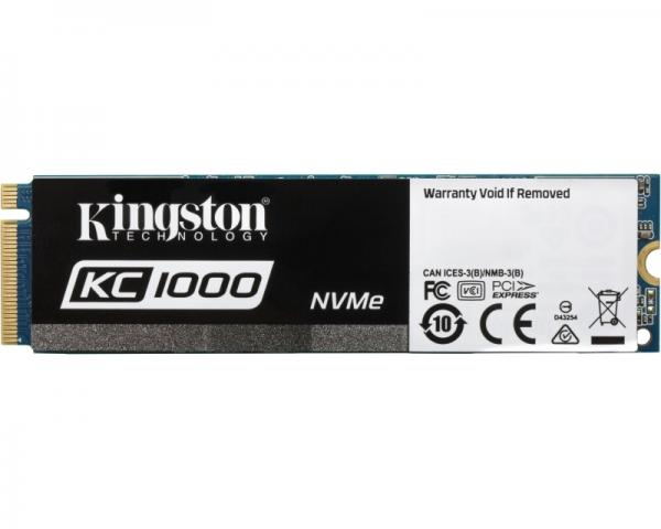 KINGSTON 480GB M.2 NVMe SKC1000/480G SSDNow KC1000 series
