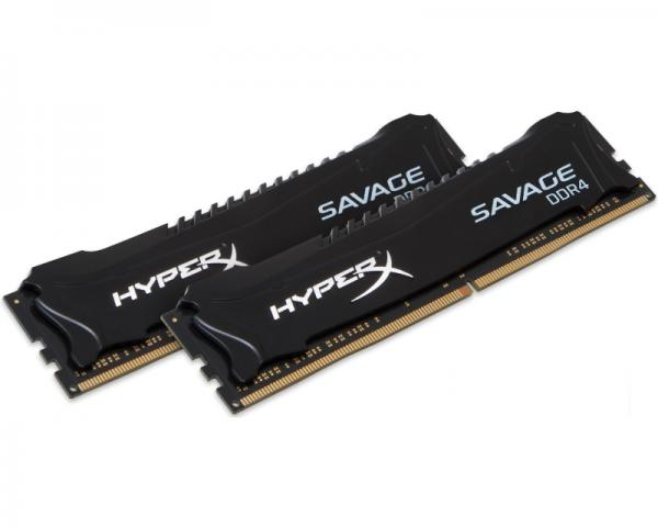 KINGSTON DIMM DDR4 8GB (2x4GB kit) 2400MHz HX424C12SB2K2/8 HyperX XMP Savage