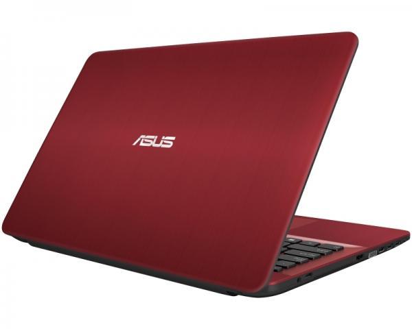 ASUS X541NA-GO134 15.6 Intel N3350 Dual Core 1.1GHz (2.4GHz) 4GB 500GB crveni