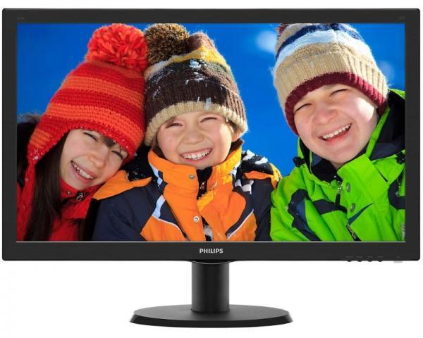 PHILIPS_ 23.6 V-line 243V5LHSB5/00 LED monitor