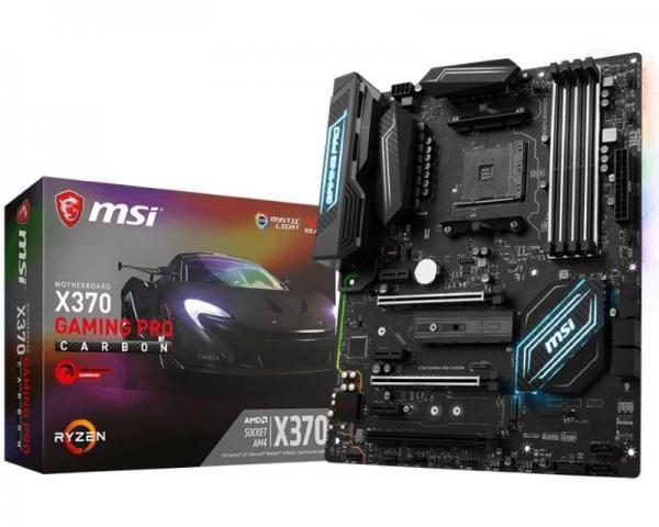 MSI X370 GAMING PRO CARBON + RGB LED Strip - 400mm