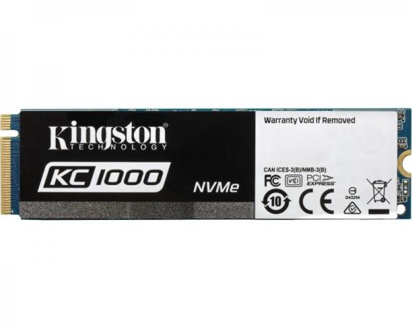KINGSTON 960GB M.2 NVMe SKC1000/960G SSDNow KC1000 series