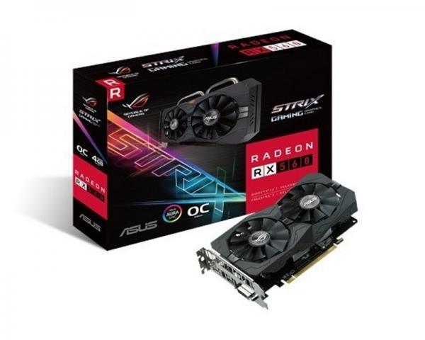 ASUS AMD Radeon RX 560 4GB 128bit ROG-STRIX-RX560-O4G-GAMING