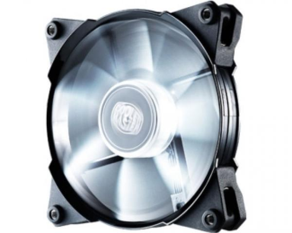 COOLER MASTER JetFlo 120 White LED 120mm ventilator (R4-JFDP-20PW-R1)