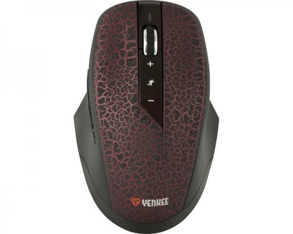YENKEE YMS 2020 Phoenix USB Wireless Optical crni miš