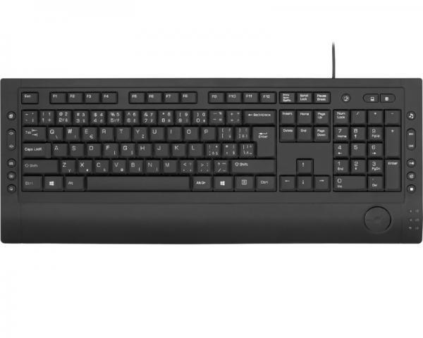 YENKEE YKB 1010CS Multimedia Slim USB US crna tastatura