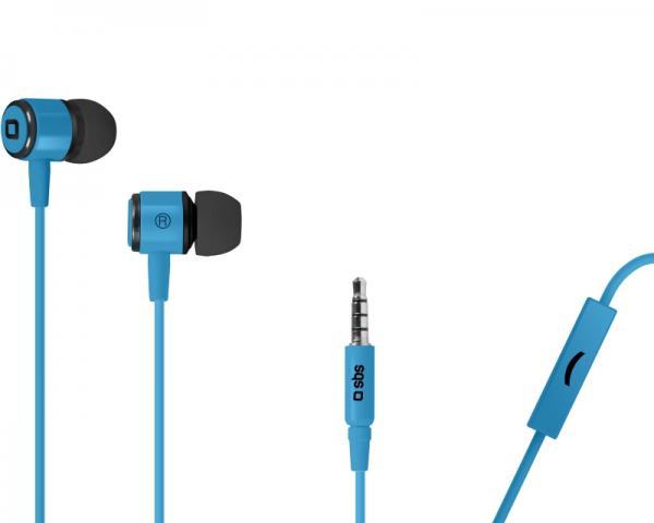 SBS Slušalice sa mikrofonom za mobilne uređaje StudioMix 40 plave TEMETALINEARA