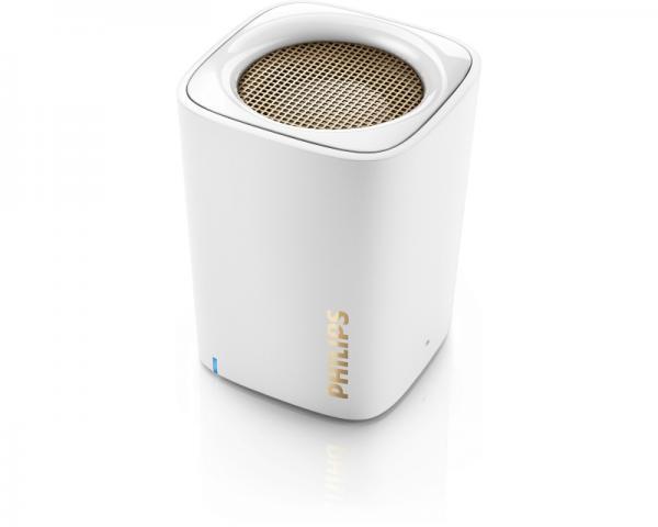 PHILIPS BT100W/00 Bluetooth zvučnik beli