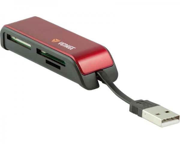YENKEE YCR 2001RD USB čitač kartica crveni