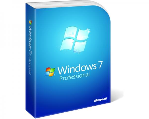 MICROSOFT Windows 7 Professional OEM 32bit SP1 DVD LCP (FQC-08279)