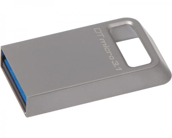 KINGSTON 64GB DataTraveler Micro USB 3.1 flash DTMC3/64GB srebrni
