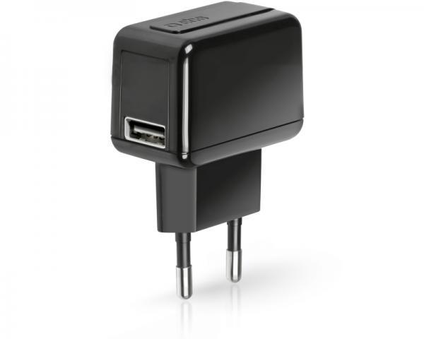 SBS Punjač za mobilne uređaje bez kabla 500mAh USB crni TETRAV1USB1L