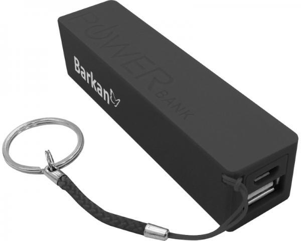 BARKAN PB22.B USB prenosni punjač crni