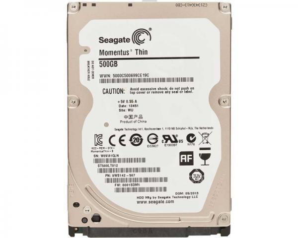 SEAGATE 500GB 2.5 SATA II 16MB 5.400rpm ST500LT012 Momentus Thin