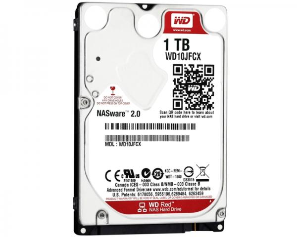 WD 1TB 2.5 SATA III 16MB IntelliPower WD10JFCX Red