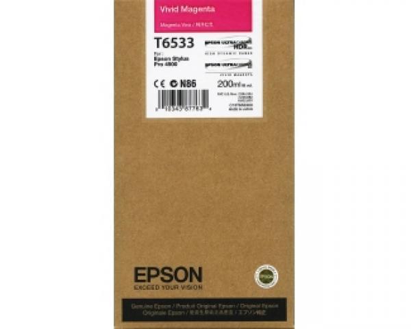 EPSON T6533 vivid magenta kertridž