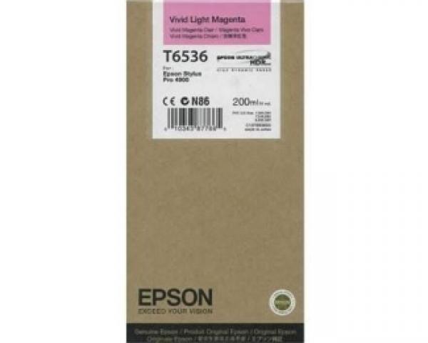 EPSON T6536 vivid light magenta kertridž