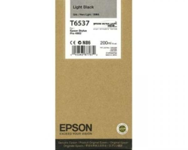 EPSON T6537 light crni kertridž