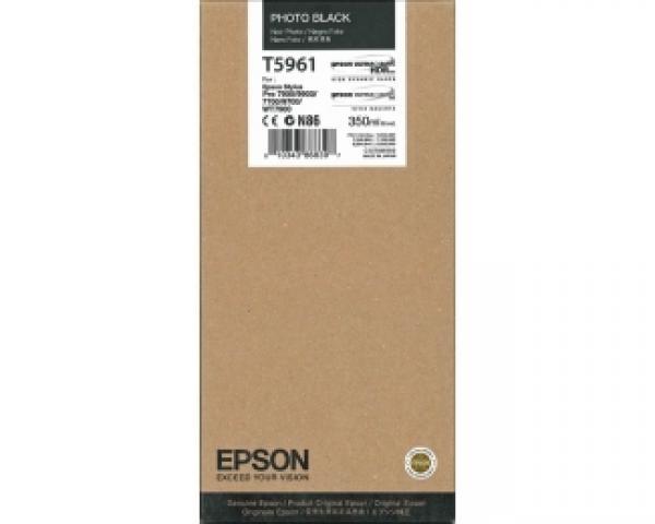 EPSON T5961 UltraChrome HDR foto-crni 350ml kertridž