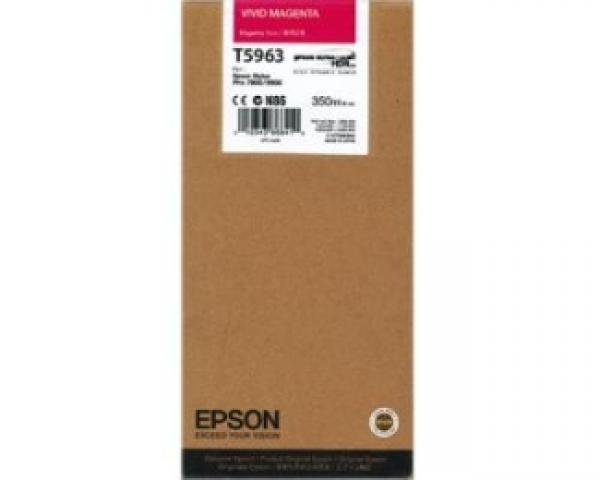 EPSON T5963 UltraChrome HDR vivid magenta 350ml kertridž