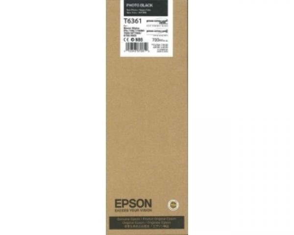 EPSON T6361 UltraChrome HDR foto-crni 700ml kertridž