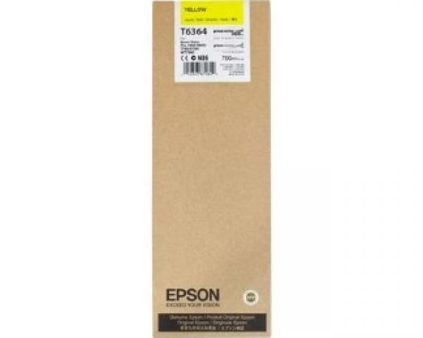 EPSON T6364 UltraChrome HDR žuti 700ml kertridž