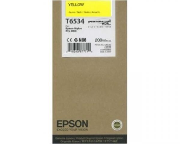 EPSON T6534 žuti kertridž