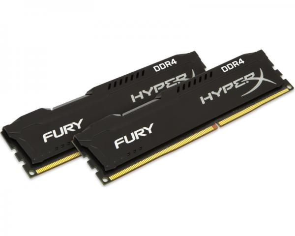KINGSTON DIMM DDR4 32GB (2x16GB kit) 2400MHz HX424C15FBK2/32 HyperX Fury Black