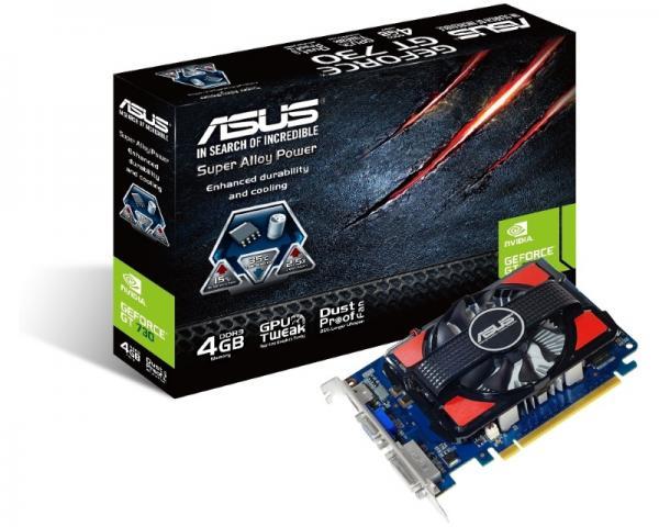 ASUS nVidia GeForce GT 730 4GB 128bit GT730-4GD3