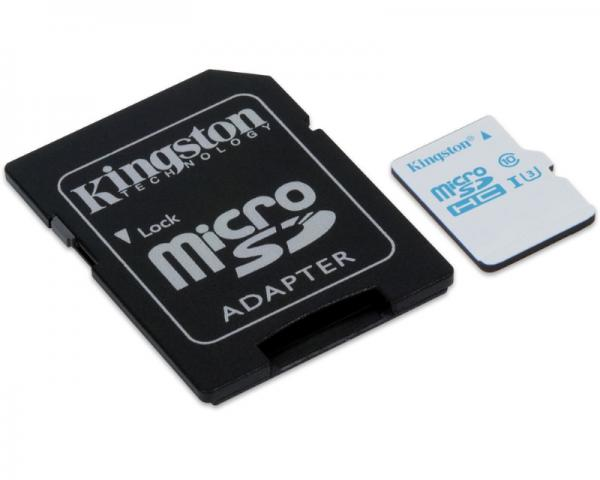 KINGSTON UHS-I U3 MicroSDHC 32GB + Adapter SDCAC/32GB